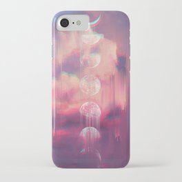 Moontime Glitches iPhone Case