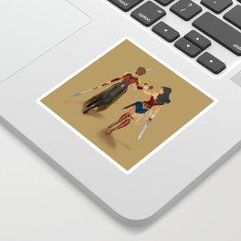 Heroines Unite Sticker