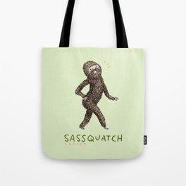 Sassquatch Tote Bag