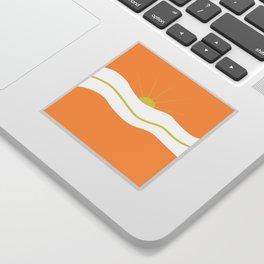 """"""" Orange days """" Sticker"""