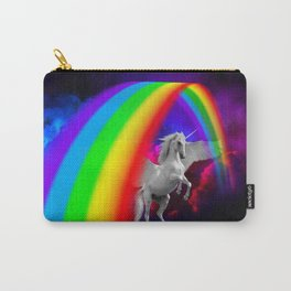 Unicorn & Rainbow Carry-All Pouch