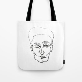 Aesthetics: Graphic-sketch Tote Bag