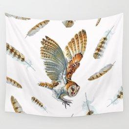 Barn Owl Landing