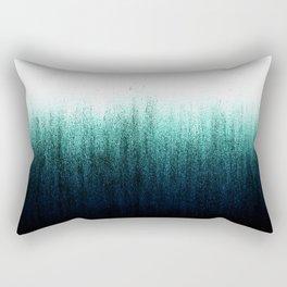 Teal Ombré Rectangular Pillow