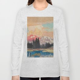 Storms over Keiisino Long Sleeve T-shirt