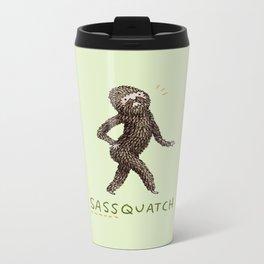 Sassquatch Metal Travel Mug