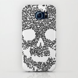 Panda is cool/skull iPhone Case