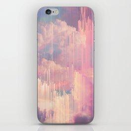 Candy Glitched Sky iPhone Skin