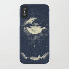 MOON CLIMBING iPhone Case