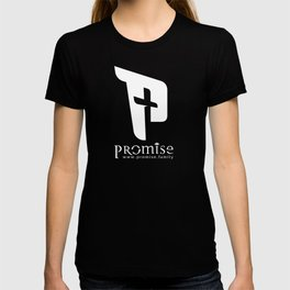 promise logo with website T-shirt