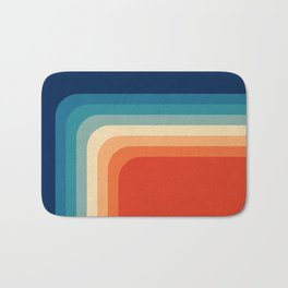 Retro 70s Color Palette III Bath Mat