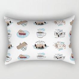 // twin peaks // Rectangular Pillow