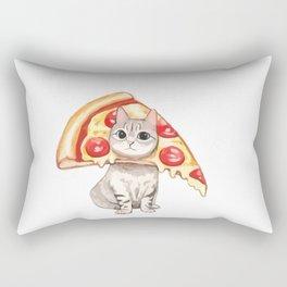 Pizza cat Rectangular Pillow