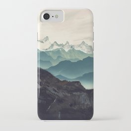 Shades of Mountain iPhone Case