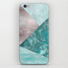 Gemstone And Geode Triangles iPhone Skin