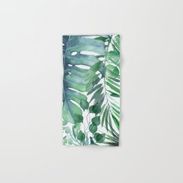 Tropical  Leaves Hand & Bath Towel