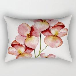 Soft Flowers Rectangular Pillow