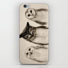 The Owl's 3 iPhone Skin