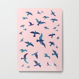 Birds II Metal Print