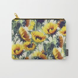 Sunflowers Forever Carry-All Pouch