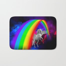 Unicorn & Rainbow Bath Mat