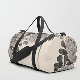Flowers on a winter day Duffle Bag