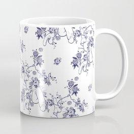 Penis Pattern Coffee Mug