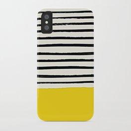 Sunshine x Stripes iPhone Case