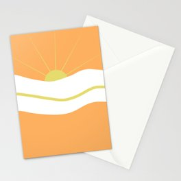 """ Orange days "" Stationery Cards"