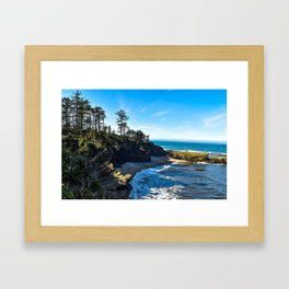 Coastal Cove - Oregon Framed Art Print