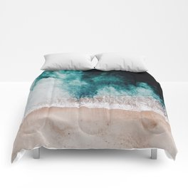 Ocean (Drone Photography) Comforters