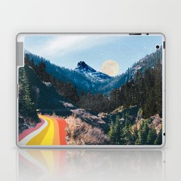 1960's Style Mountain Collage Laptop & iPad Skin