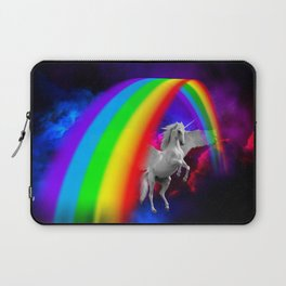 Unicorn & Rainbow Laptop Sleeve