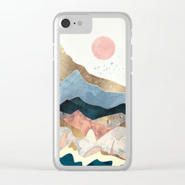 Golden Peaks Clear iPhone Case