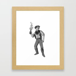 Inktober Day 27 Framed Art Print