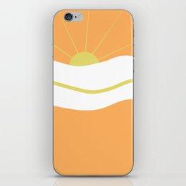 """ Orange days "" iPhone Skin"