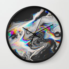 CONFUSION IN HER EYES THAT SAYS IT ALL Wall Clock
