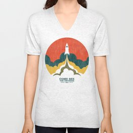 Come See The Universe Unisex V-Neck