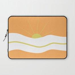 """ Orange days "" Laptop Sleeve"