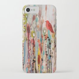 la vie comme un passage iPhone Case