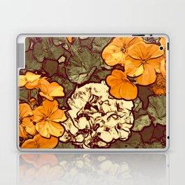 Orange Geranium, Plant of Feminine Healing Laptop & iPad Skin
