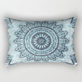 BOHOCHIC MANDALA IN BLUE Rectangular Pillow