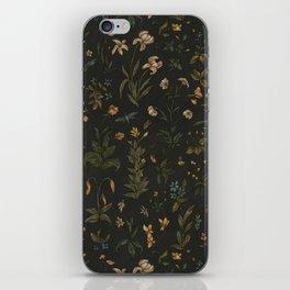 Old World Florals iPhone Skin