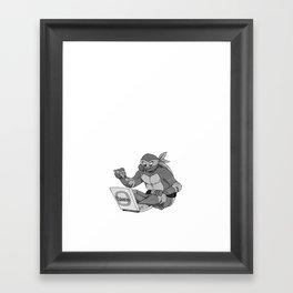 Inktober Day 19 Framed Art Print