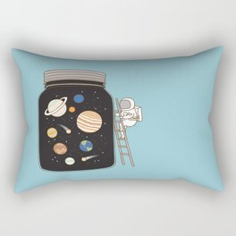 confined space Rectangular Pillow
