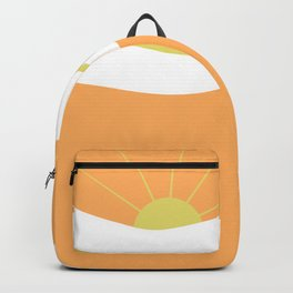 """"""" Orange days """" Backpack"""