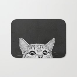 You asleep yet? Bath Mat