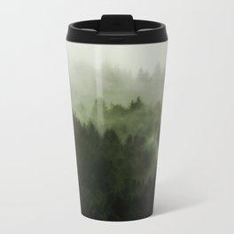 Drift - Green Mountain Forest Metal Travel Mug