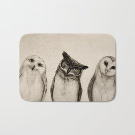 The Owl's 3 Bath Mat