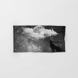 Dark Wolf Hand & Bath Towel